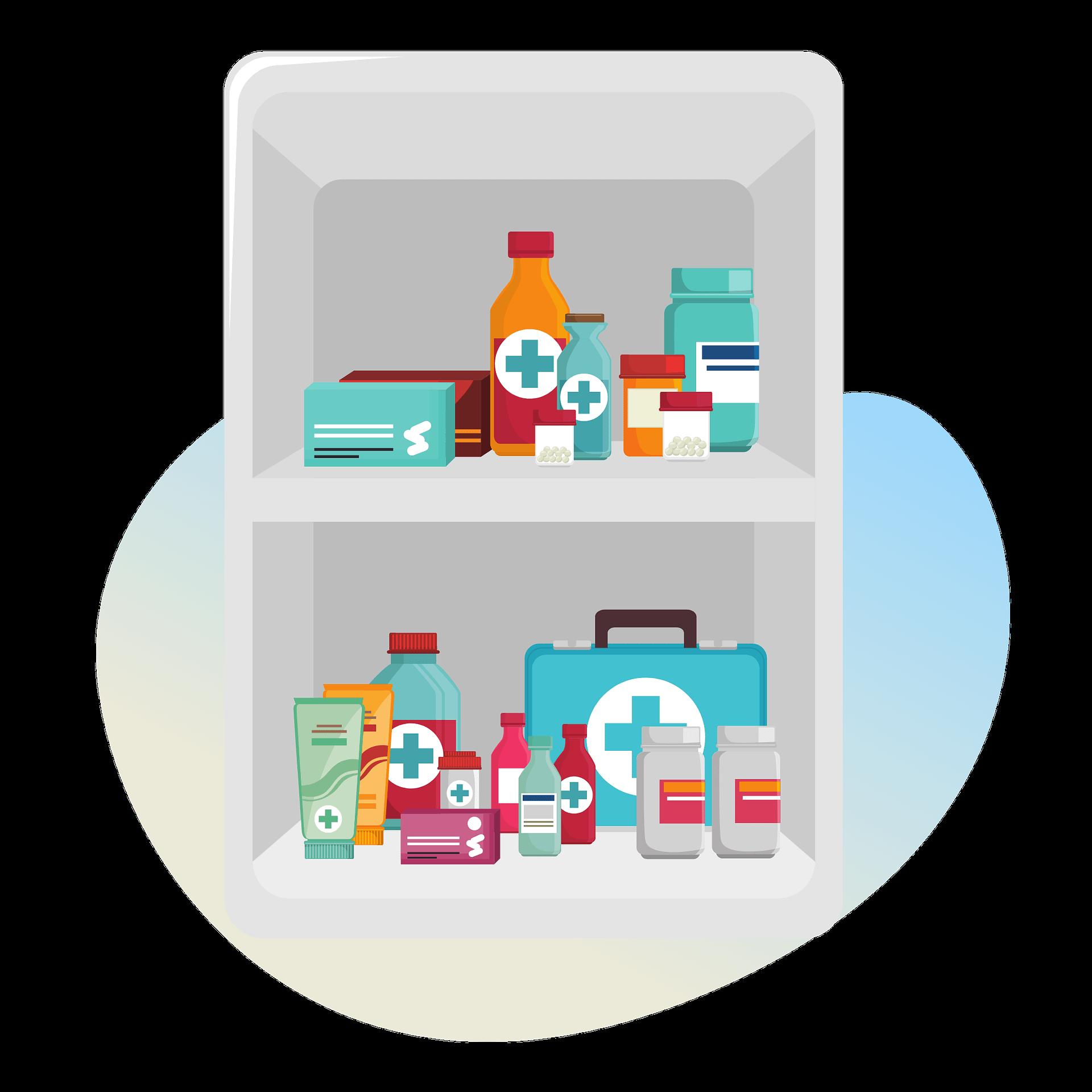 Manage Prescription Cabinet